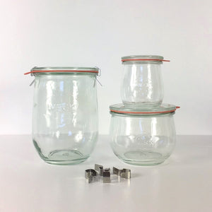 Weck Tulip Jars NZ