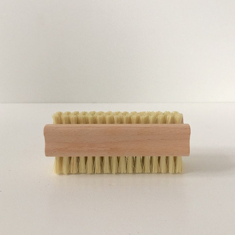 Wooden Nail Brush with Natural Bristles NZ