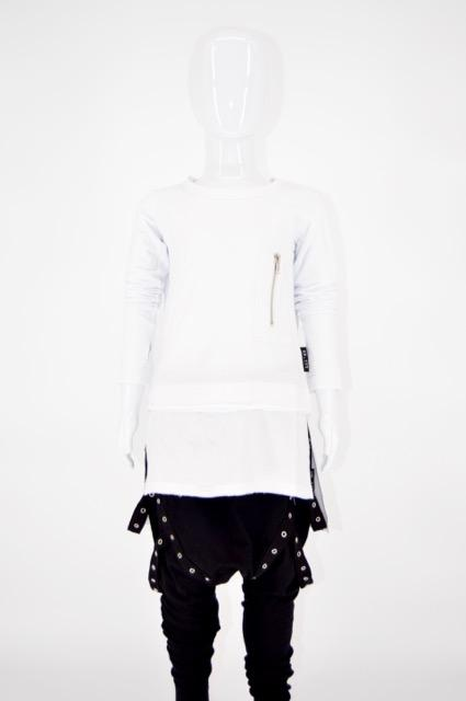 Luxe Layer Top White - WORLD OF MONOKROME