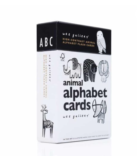 Animal Alphabet Cards - WORLD OF MONOKROME