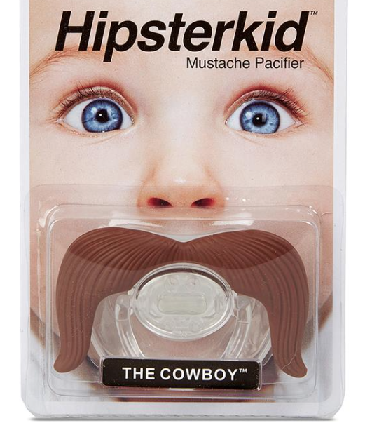 Hipster Mustachifier Cowboy - WORLD OF MONOKROME