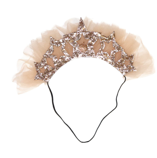 Princess Headband Gold - WORLD OF MONOKROME