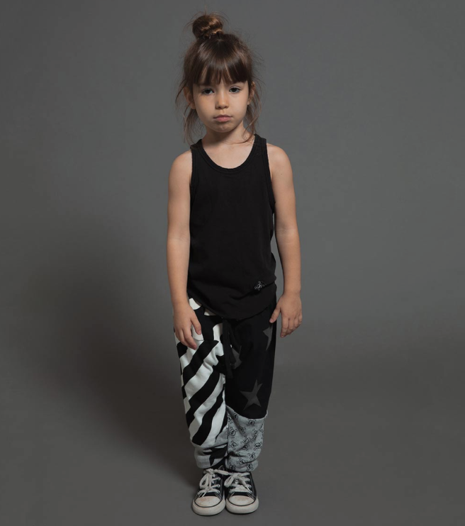 Quilt Baggy Pant - WORLD OF MONOKROME