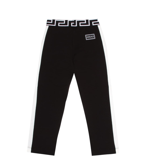 Side Stripe Sweatpants - WORLD OF MONOKROME