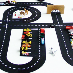 Imaginative Play - King of the Road Playset