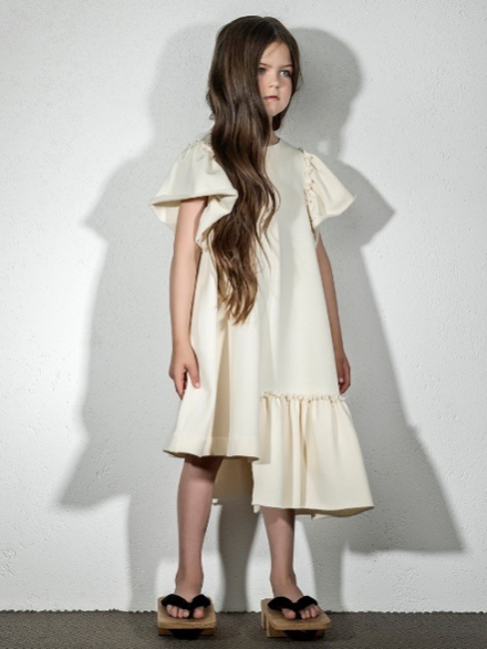 Asymetric Hem Dress
