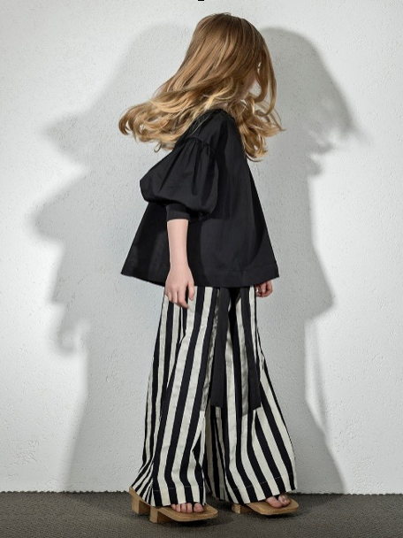 Striped Milky Culottes
