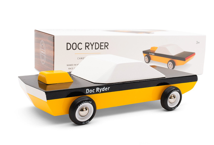 Doc Ryder Wooden Toy - WORLD OF MONOKROME