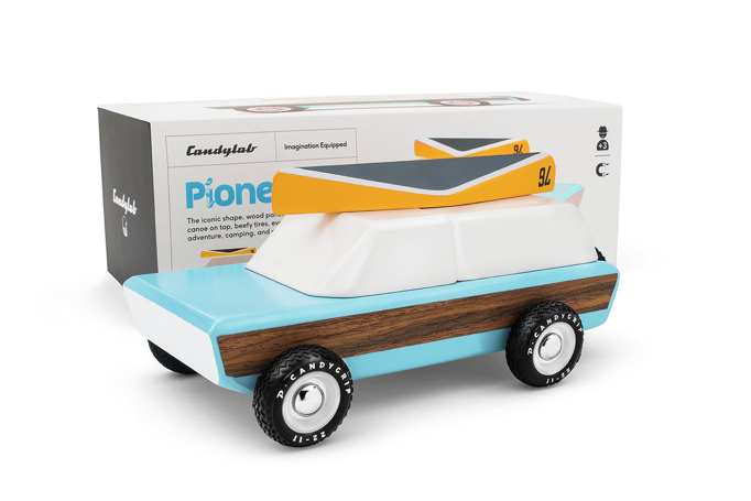 Pioneer Wooden Toy - WORLD OF MONOKROME