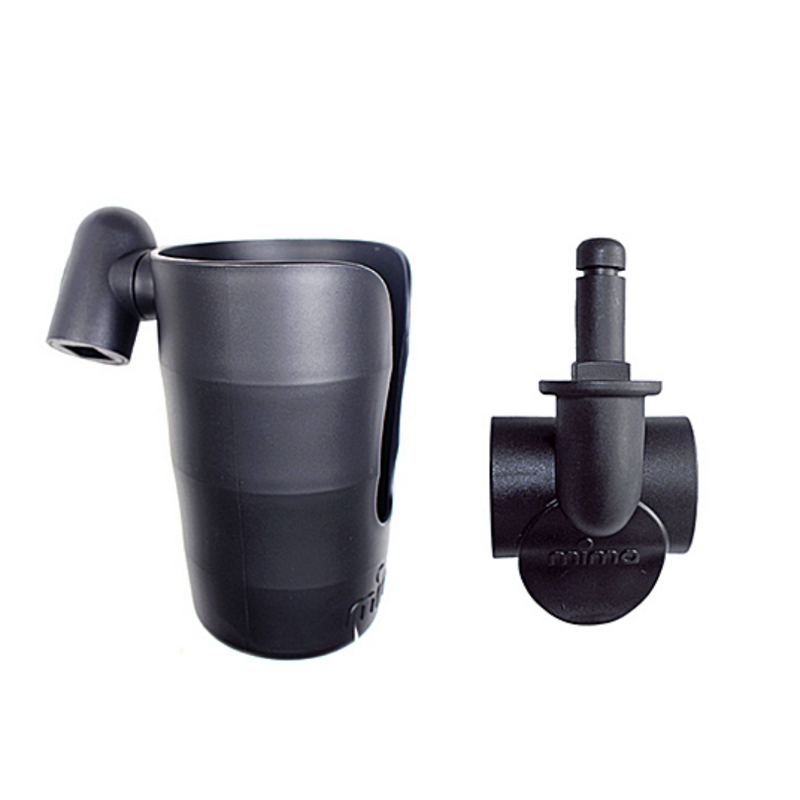 Cup Holder & Clip Set - WORLD OF MONOKROME