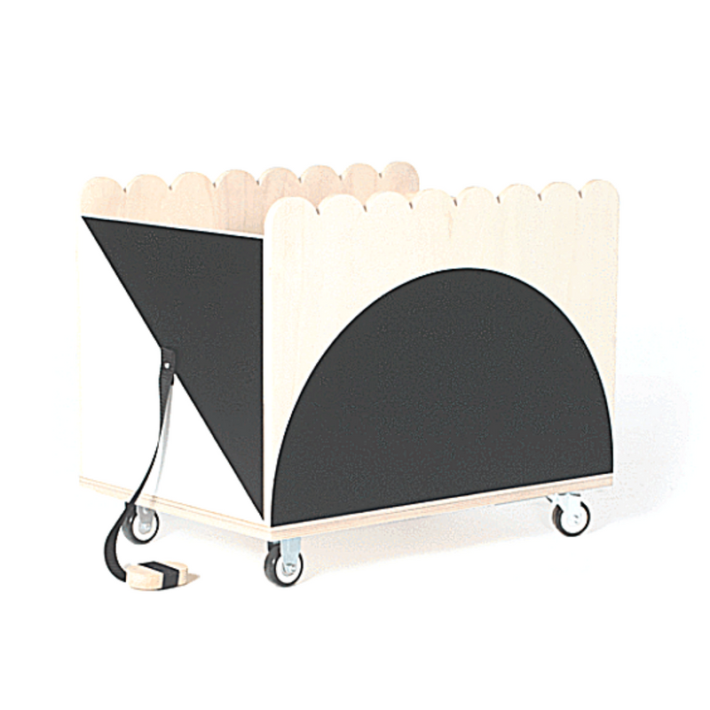 Tchou-Tchou Storage Bin - WORLD OF MONOKROME