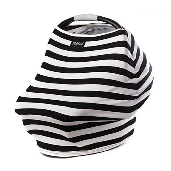 5-in-1 Cover B&W Stripes - WORLD OF MONOKROME