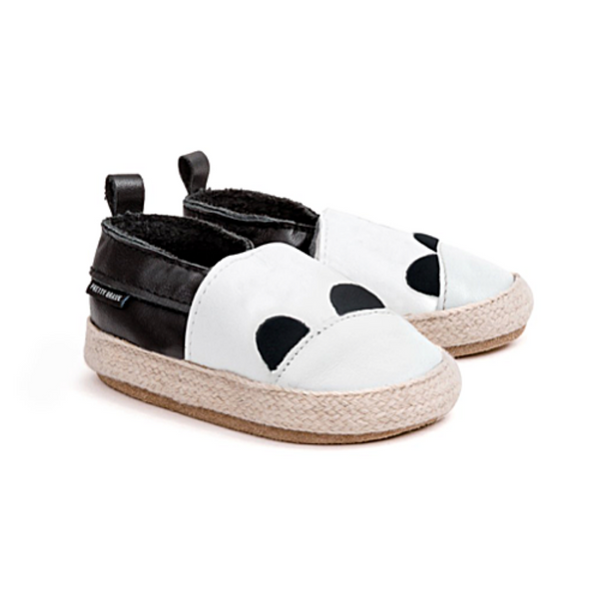 Panda Espadrilles - WORLD OF MONOKROME