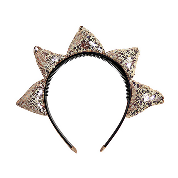 Diva Crown Headband Gold - WORLD OF MONOKROME