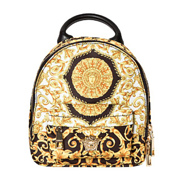 Baroque Print Backpack - WORLD OF MONOKROME