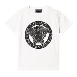 Medusa Bold Logo Tee - WORLD OF MONOKROME
