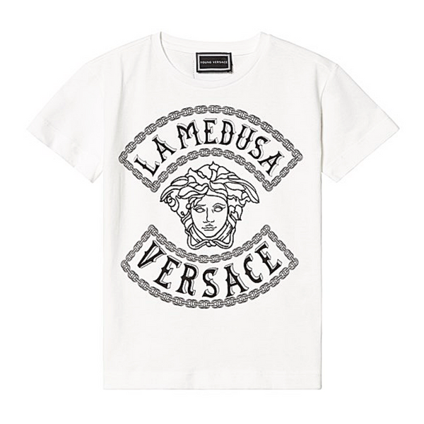 Medusa Sketch Logo Tee - WORLD OF MONOKROME