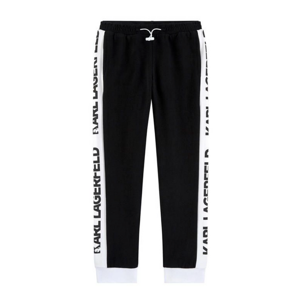 Logo Tracksuit Pant - WORLD OF MONOKROME