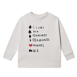 Clubs Ace Sweater - WORLD OF MONOKROME