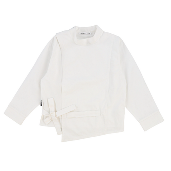 Crisp L/S Crossover Poplin - WORLD OF MONOKROME
