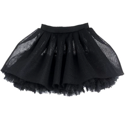 Mesh Tulle Skirt - WORLD OF MONOKROME