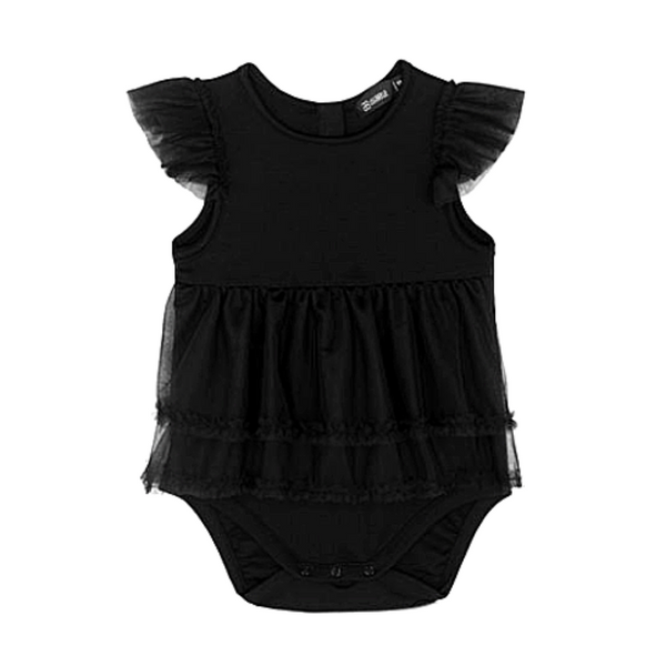 Tulle Rubi Romper - WORLD OF MONOKROME