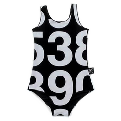 Numbered Swimsuit - WORLD OF MONOKROME