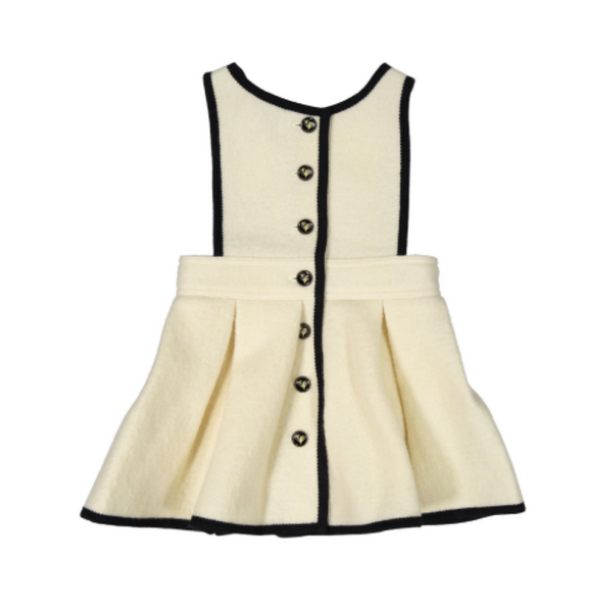 Audrey Heart Dress - WORLD OF MONOKROME