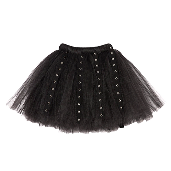 Tulle Renegade Skirt Black - WORLD OF MONOKROME