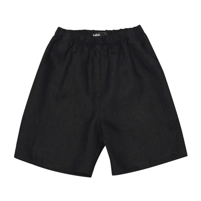 Linen Shorts - WORLD OF MONOKROME