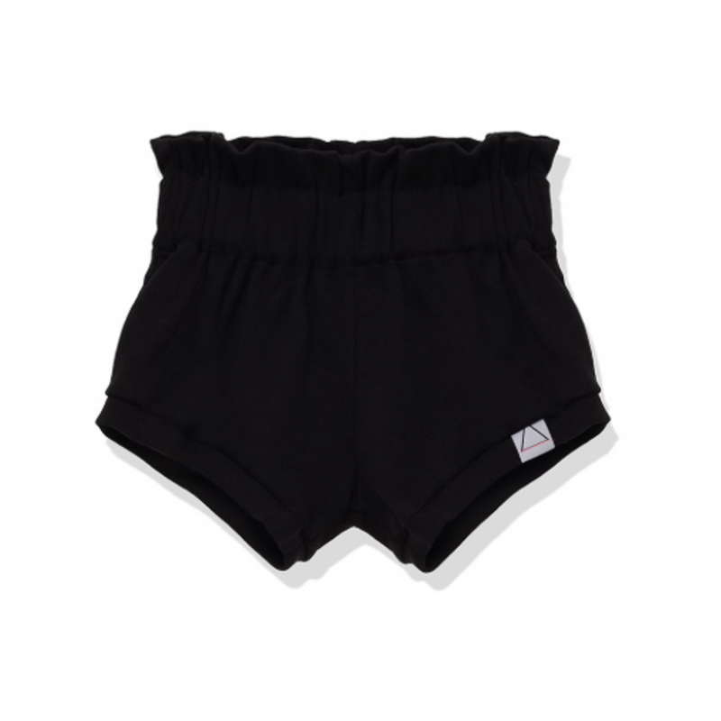 Ruffle Bloomers Black - WORLD OF MONOKROME