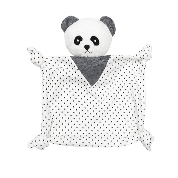 Organic Panda Lovey Dots - WORLD OF MONOKROME