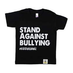 "Kids for Change ""BULLYING"" Tee - WORLD OF MONOKROME"