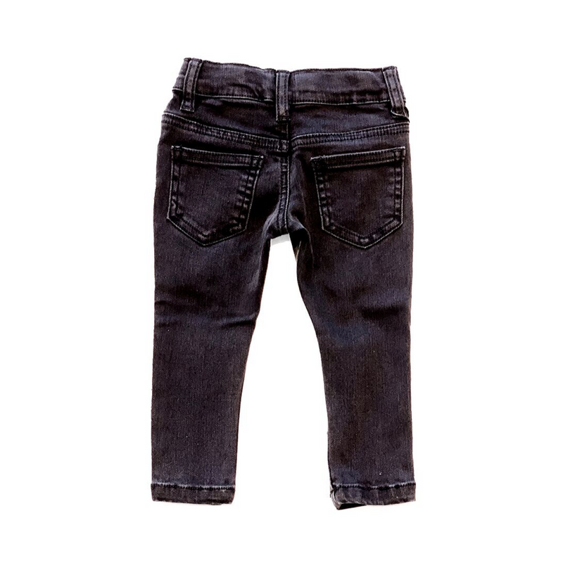 Black Destroyed Denim - WORLD OF MONOKROME