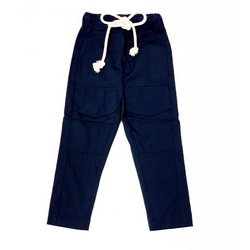 Rope Tie Pants - WORLD OF MONOKROME