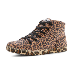 High Top Myakin Sneakers Leopard