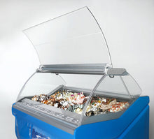 Ciam Brand Amika Model 12 Pan Model Frozen Dessert Display Case- 12 Pan- Paleta, Pops ,Gelato, or Ice Cream
