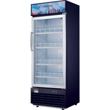 DSM-12R - Single Glass Door bottom Mount Fridge