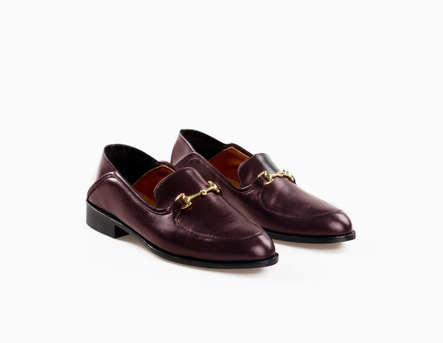 The Soft Step Loafer - Oxblood Burgundy