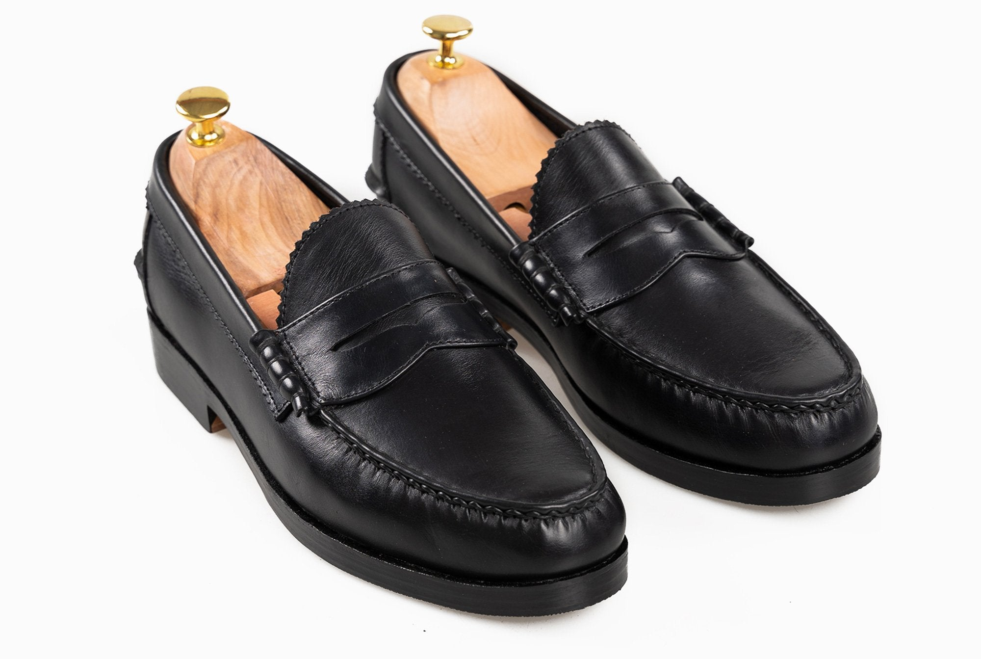 The Grand Penny Loafer - Black Noir