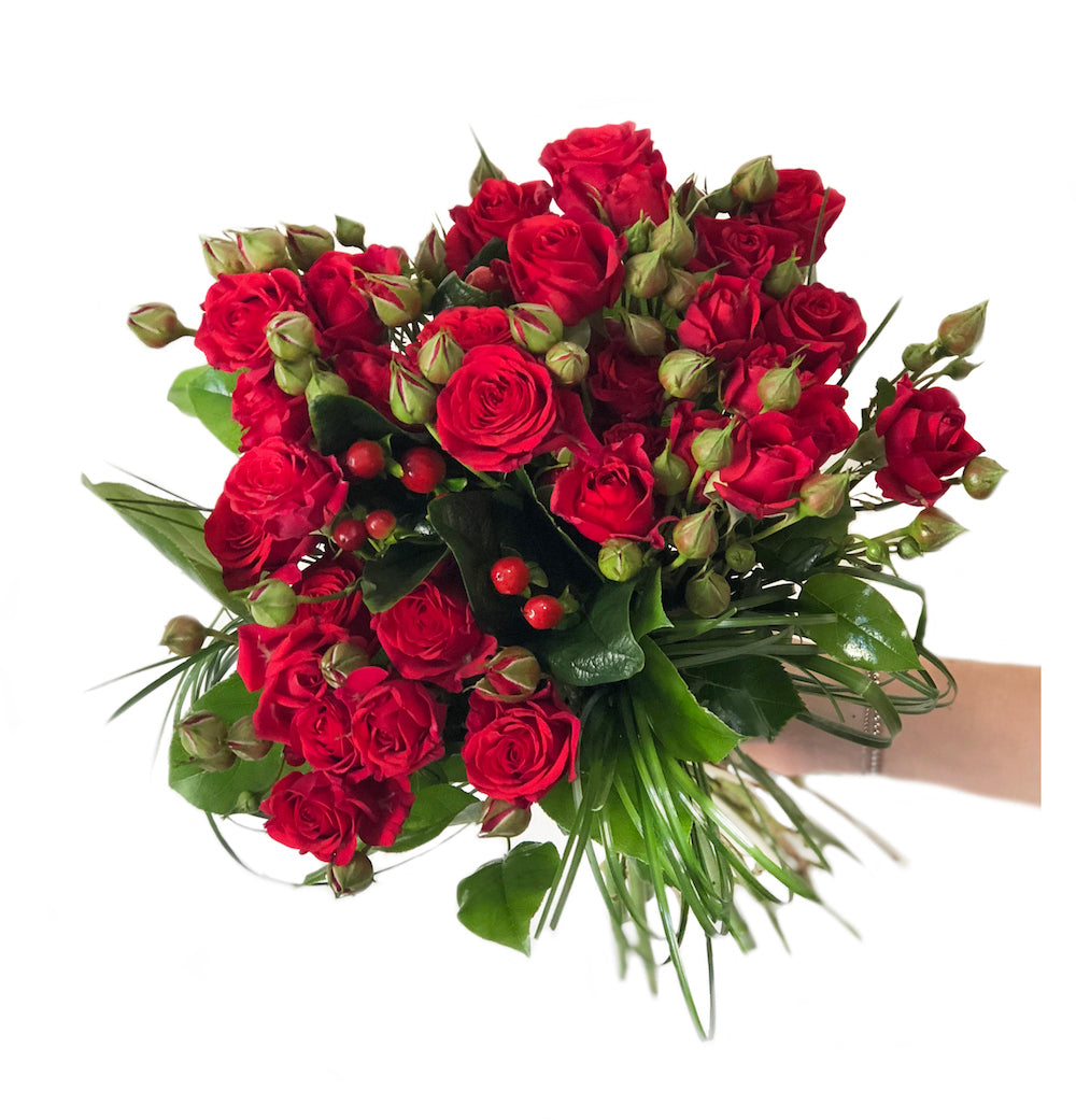 ORDINA Bouquet Rose e Bergrass