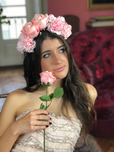 SHOP Faux Pinky Floral Headband