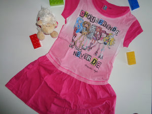 Monster High . Sommerkleid Gr.128/134