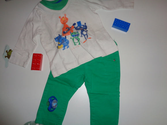 Set - Shirt mit Hose Gr. 68