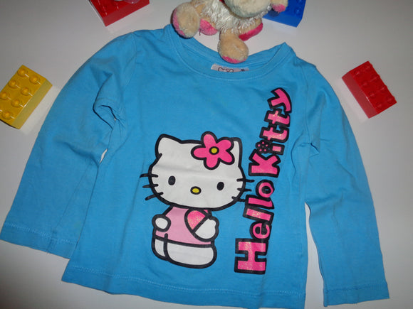 Hello Kitty . Langarmshirt Gr. 92