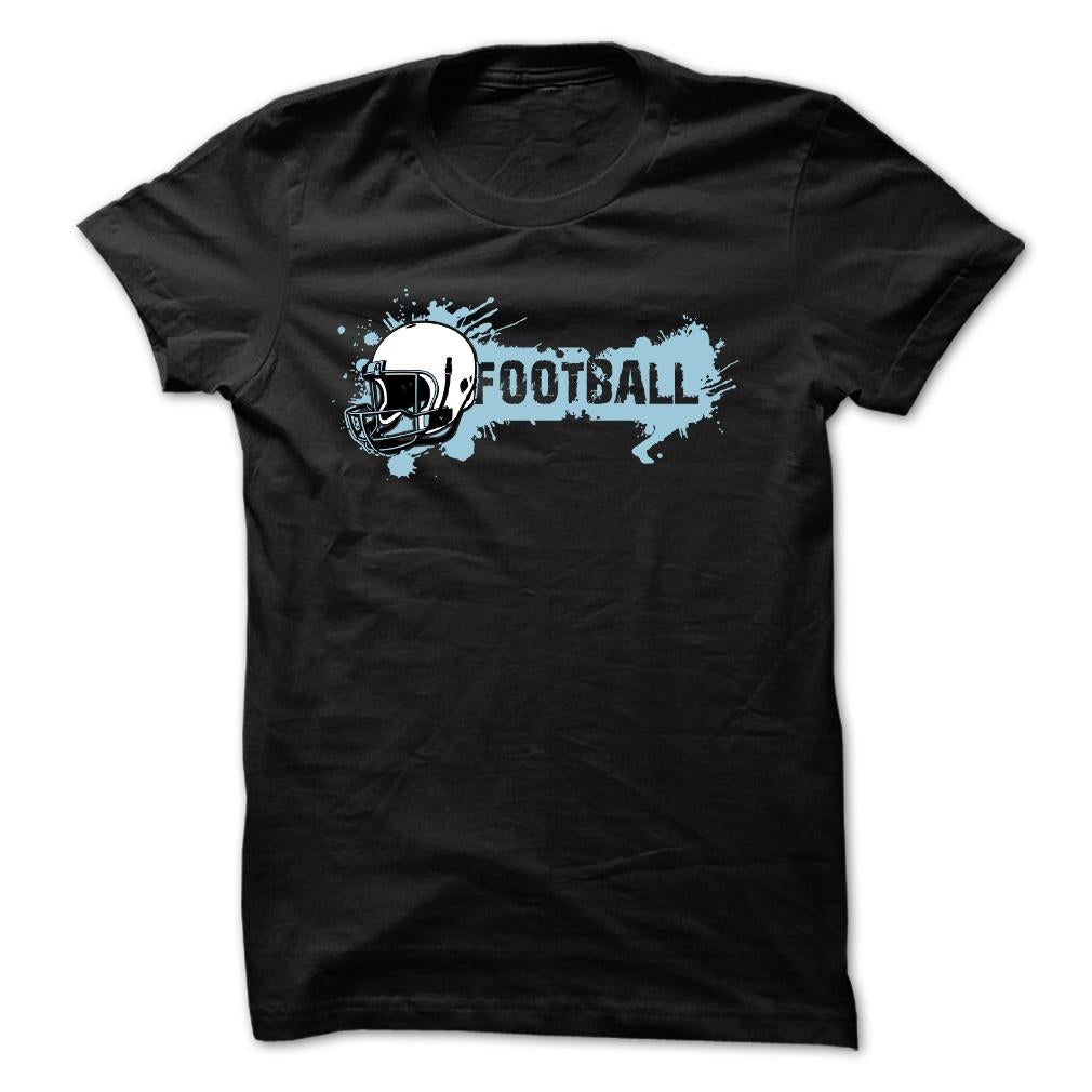 Football Themed T Shirts. Football Style Tee Shirts. Football T Shirts.