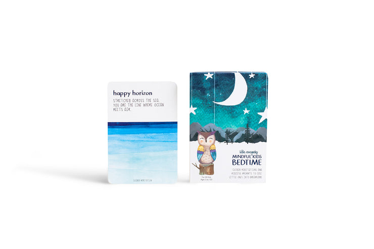 Mindful Kids Cards: Bedtime