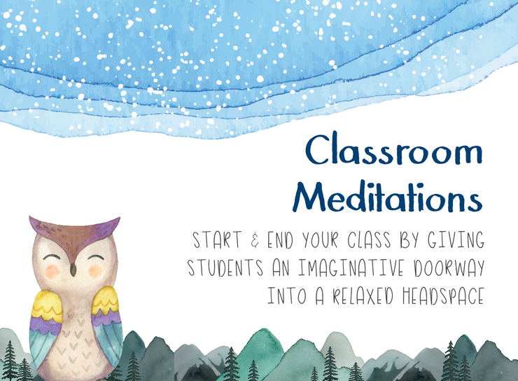 Free Classroom Exercises: Guided Meditations