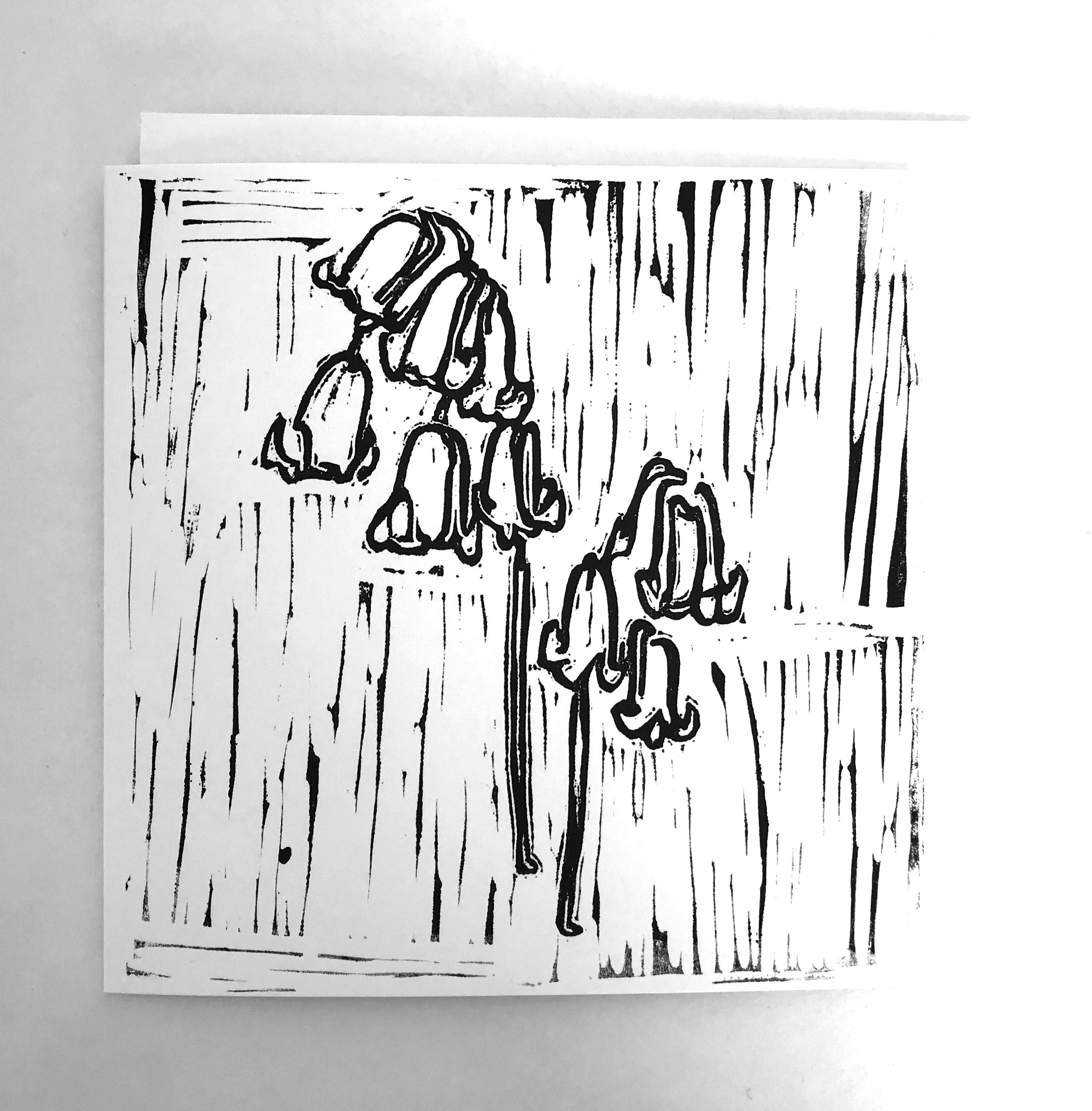 'BLUEBELL' GREETING CARD