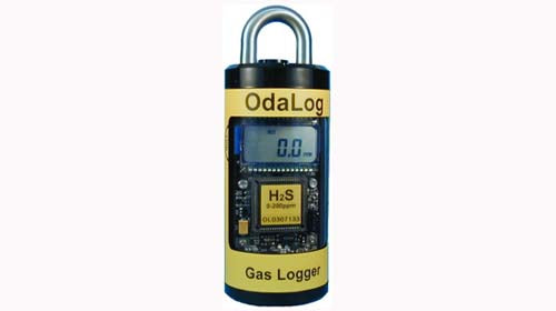 Detection Instruments OdaLog L2 Hydrogen Sulfide Gas Logger (0  1000 PPM)
